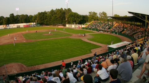 Centennial Field in Burlington, Vermont.