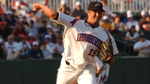 Justin Moore pitched five innings in his first start since July 15.