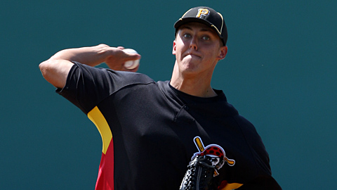 Scouts have been wowed by Taillon's fastball, slider and curve.